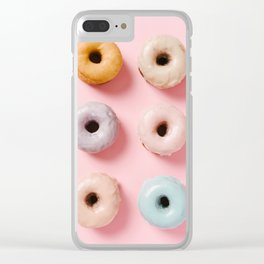 Donut Life 1 Clear iPhone Case