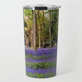 Bluebells Bluebell Woods Basildon Park Berkshire Travel Mug