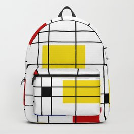 Neo-Plasticism 1 Backpack