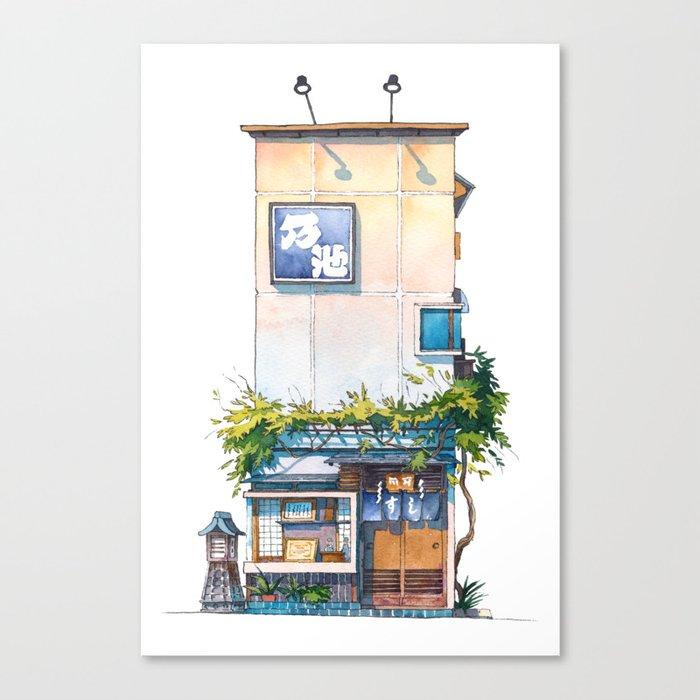 Tokyo storefront #10 Leinwanddruck
