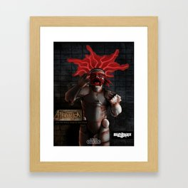 ATeNATiCa - Cover Art Framed Art Print