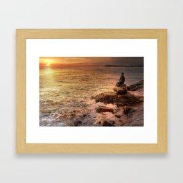 Folkestone At Sunrise Framed Art Print