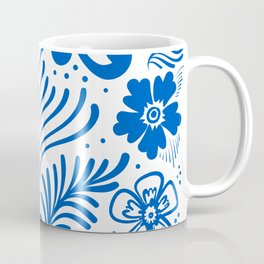 Mexican Folk Floral Ornaments Coffee Mug