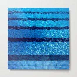 Swim Team Metal Print