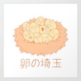 Little Saitamas Art Print
