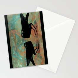 Odin's Ravens Huginn and Muninn Stationery Cards