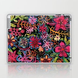 Meadow on black Laptop & iPad Skin