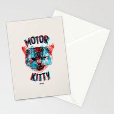 Motor Kitty Stationery Cards