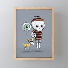 Skull Kid Framed Mini Art Print
