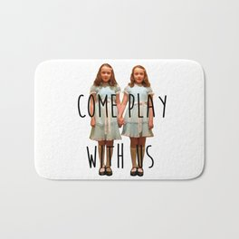 Come play with us Bath Mat
