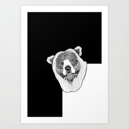 Bear My Soul Art Print