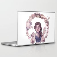 macaroon Laptop & iPad Skins featuring Enchanting  by Lettie Bug