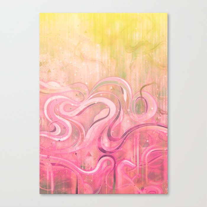 Cascade II Canvas Print
