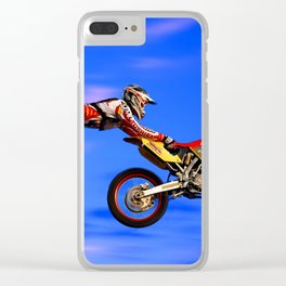 Moto Styler Clear iPhone Case