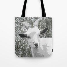 Goat Grey Tote Bag