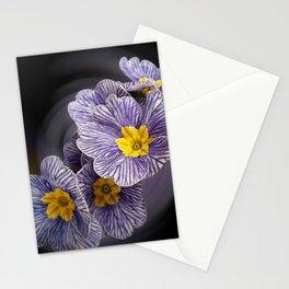 Primrose  flowers Stationery Cards