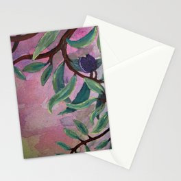 Olives Pink Stationery Cards