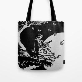 The Samurai and the Leaf Tote Bag