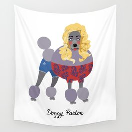 Doggy Parton Wall Tapestry