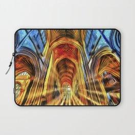 Bath Abbey Sun Rays Van Goth Laptop Sleeve