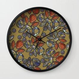 Gemstones 2 Wall Clock