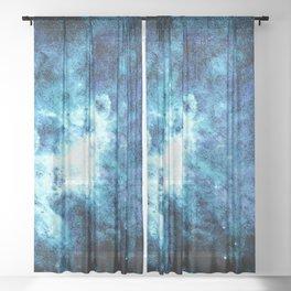 Galaxy #3 Sheer Curtain