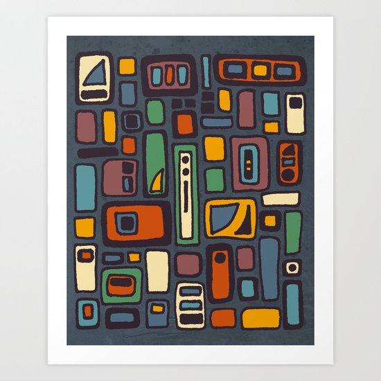 Textures/Abstract 41 Art Print
