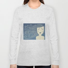 The Moon In Human Form Long Sleeve T-shirt