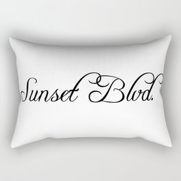 Sunset Boulevard Rectangular Pillow