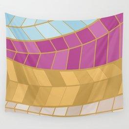 GOLDMOSAIC2 Wall Tapestry