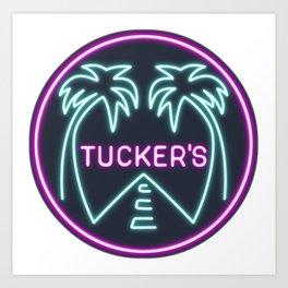 Black Mirror - San Junipero Tucker's Art Print