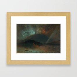 Albert Bierstadt -Auroras Framed Art Print