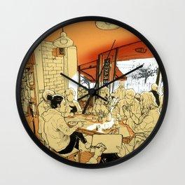 Tivoli cafe Wall Clock