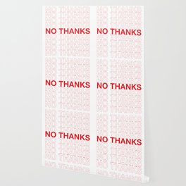 NO THANKS Wallpaper