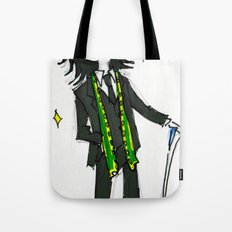 Loki (in Suit) (the Avengers) Tote Bag