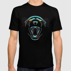 Black Panther Black SMALL Mens Fitted Tee