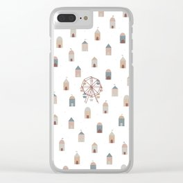 On the ferris wheel Clear iPhone Case