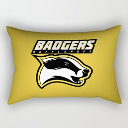 Badgers Hufflepuff  Rectangular Pillow