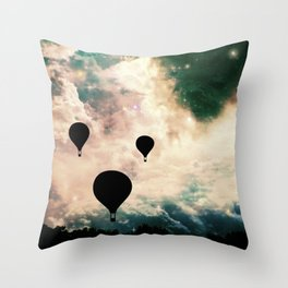 Evacuation Throw Pillow