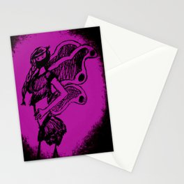 "Women with no faces--series ""Fairy Stationery Cards"