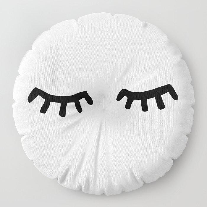 Tired Eyes Floor Pillow