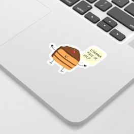 Trouble Baker Sticker