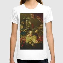 "Jan Davidsz de Heem ""Sumptuous Fruit Still Life with Jewellery Box"" T-shirt"