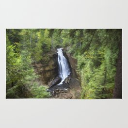 Miners Falls, Munising, Michigan. Rug