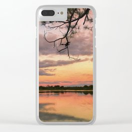 Reflections of Florida Clear iPhone Case