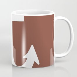 Anchor (White & Brown) Coffee Mug