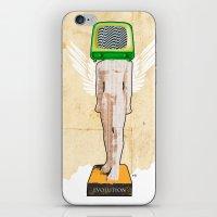 evolution iPhone & iPod Skins featuring Evolution by Marko Köppe