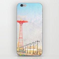 Brooklyn's Eiffel Tower iPhone & iPod Skin