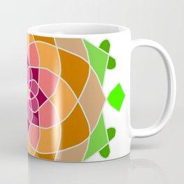 Multicolor esoteric petal mandala Coffee Mug