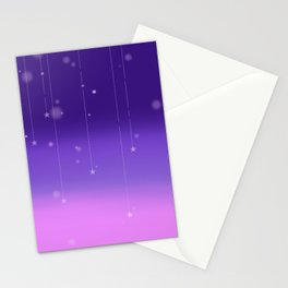 Wish Upon A Falling Star Stationery Cards